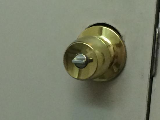 Bathroom Window Lock Broken bathroom door. lock is broken. - picture of green valley motel
