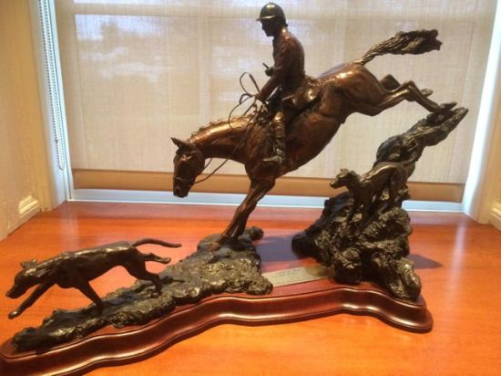 National Sporting Library & Museum : Hunting scene.