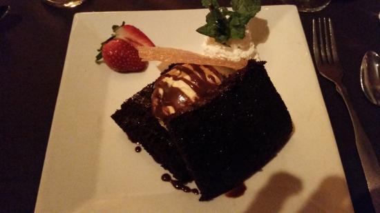 Six Burner Bistro: Yummy Chocolate/Chambord Cake