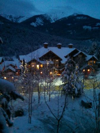Panorama Mountain Resort: Pequena visão do apartamento