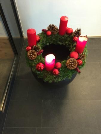 Zin Senfter Residence: decorazione natalizia