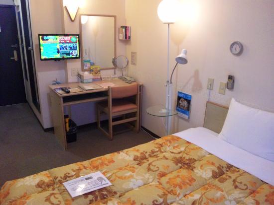 Toyoko Inn Chiba Makuhari: 窓側から