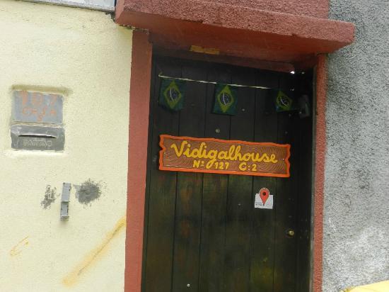 Vidigalhouse Hostel: Entrada
