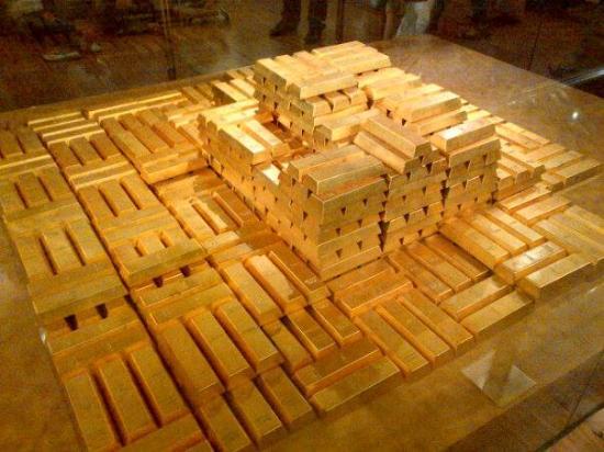 Museum Bank Indonesia : Emas batang