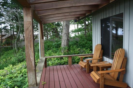 Sea Breeze Lodge: Eagles Nests' Deck