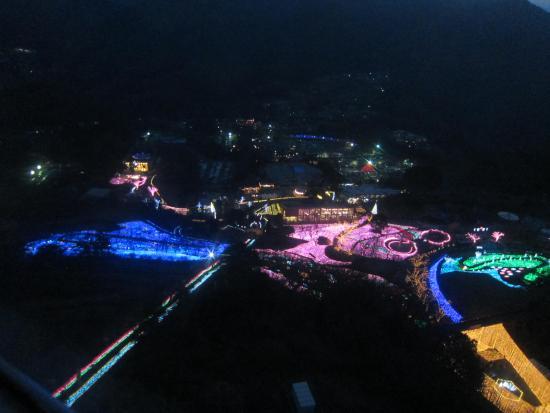 Sagami Lake Resort Pleasure Forest: 観覧車から