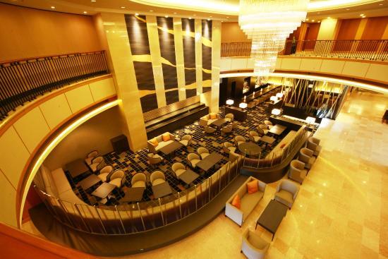 Hotel Metropolitan Yamagata : Hotel lobby