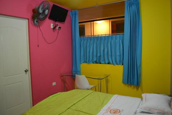 Hotel Embajador : colores que alegran el espiritu
