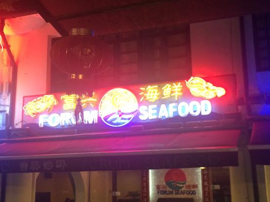 Forum Seafood: Warning! Don't go there - worst restaurant ever.