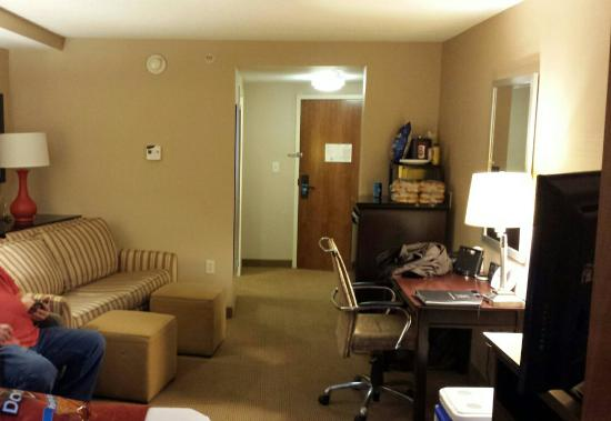 Holiday Inn Indianapolis Downtown: View from king suite