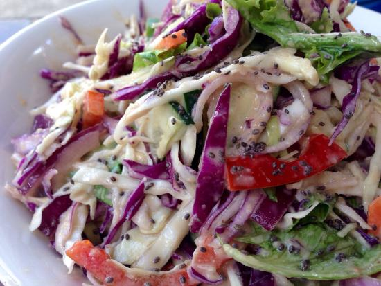 Samara Organics Mercado Organico: Thai Crunch Salad