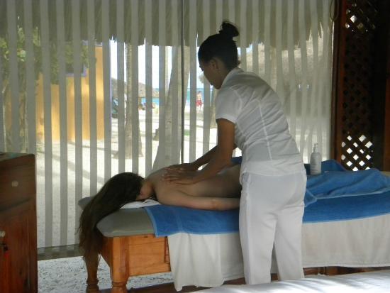 Caribe Club Princess Beach Resort & Spa: Massage Service