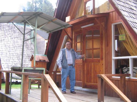 Termas de Aguas Calientes: nuestra cabaña