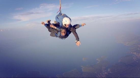 Skydiving Tandem Hvar