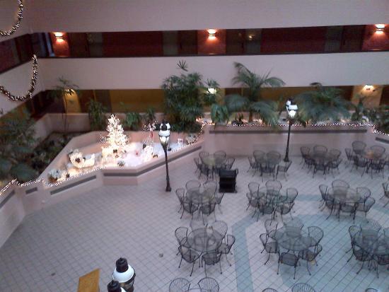 Viscount Suite Hotel: Atrium Space