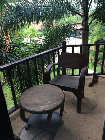 Andamanee Boutique Resort: Room Balcony