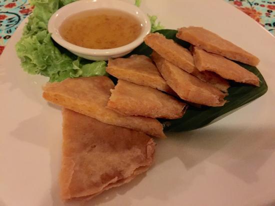 Ban Chiang : Shrimp Pancake