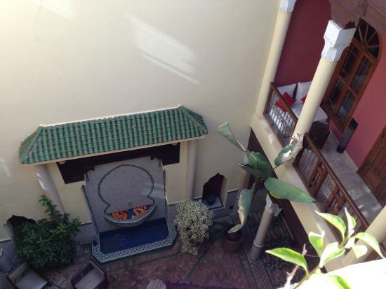 Dar Taliwint : le patio