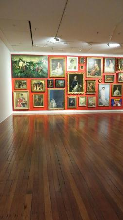 Dunedin Public Art Gallery: One of the halls