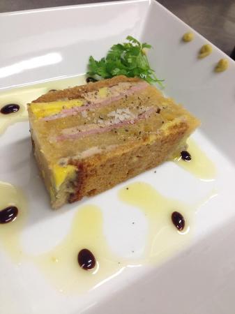 La Cocotte : menu de décembre : opéra de foie gras