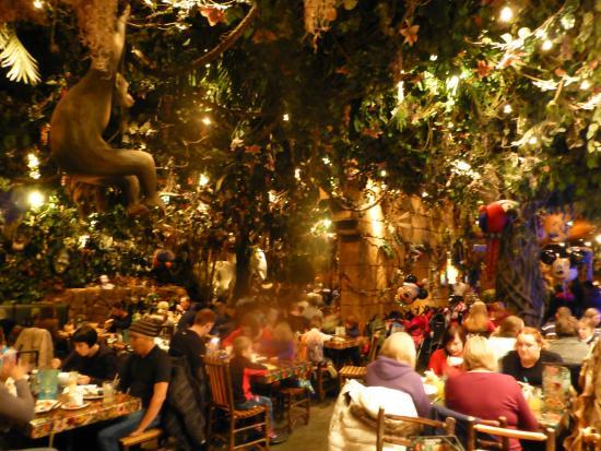 Rainforest Cafe Disneyland Reviews