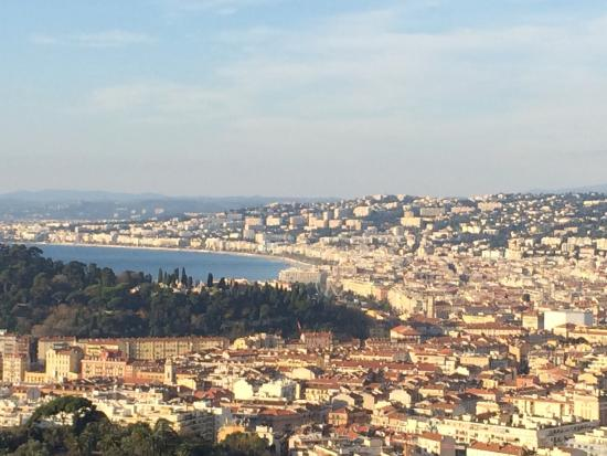 Mt Boron: View of Nice