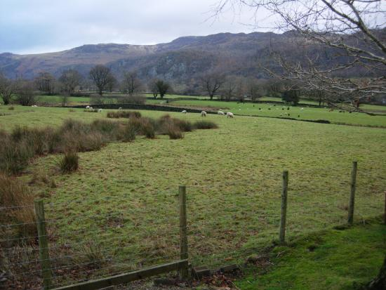 The Borrowdale Gates Hotel: VIEW FROM ROOM 6