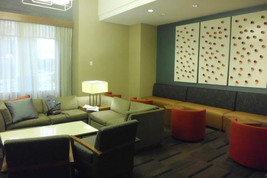 Hyatt Place Denver/Cherry Creek : One area of a large lobby that we called Our LR!