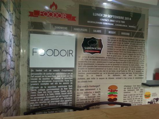 Illustration murale picture of foodoir casablanca tripadvisor