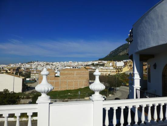 Hotel Maria Luisa: View of Rute from balcony of room