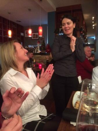 Masterson's Steak House & Wine Bar: 40yh birthday