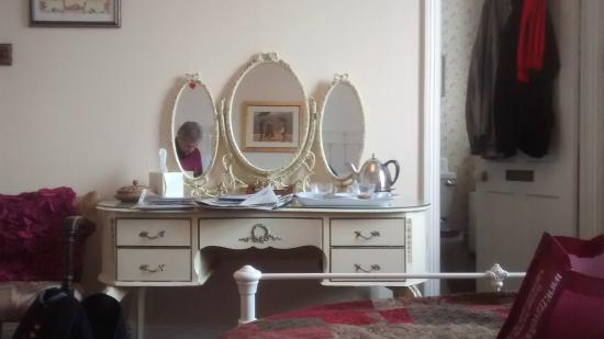 Hamlet House Bed and Breakfast: our room - from the Victorian bedstead ...
