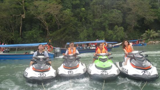 Mega Water Sports - Jet Ski Tours: Just got through playing with the Monkeys