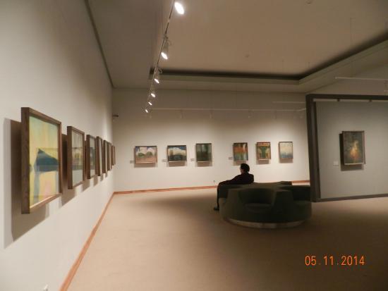 National M. K. Ciurlionis Art Museum: Зал художественного музея.