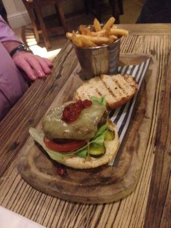 The Brampton Mill: the burger