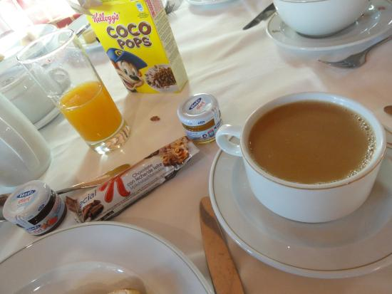 Tortosa, Spanien: Desayuno