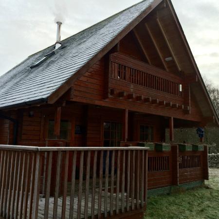 Big Sky Lodges: Stove is on!
