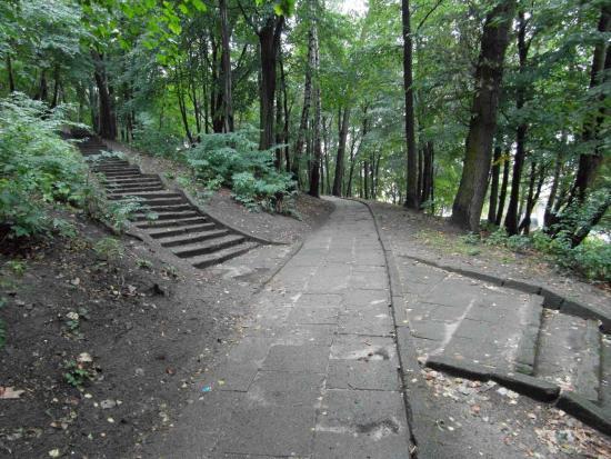 Maria and Lech Kaczynski Park at Stone Mountain