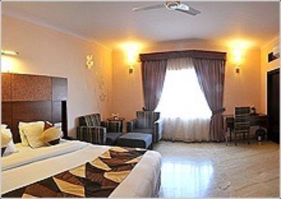 Hotel Maharaja Residency: Double bed