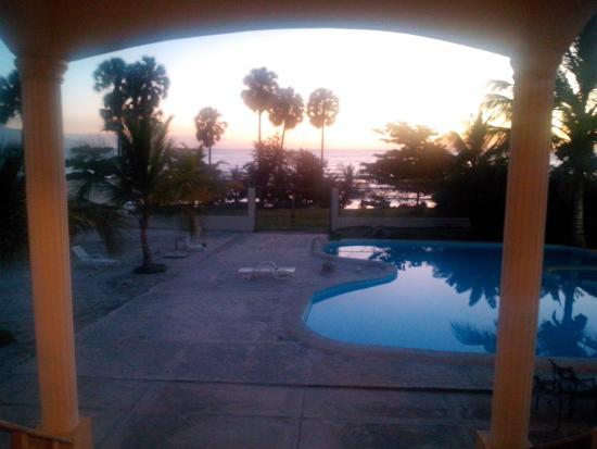 Hotel La Saladilla Beach Club : Amaneciendo...