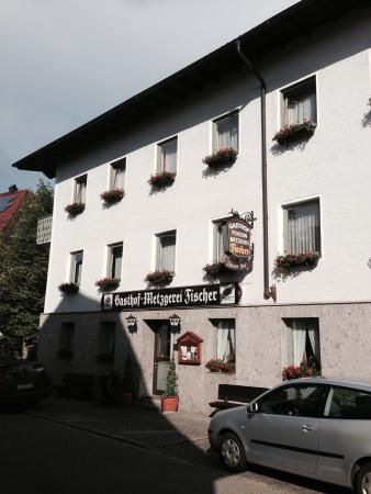 Mitterfels, Duitsland: Außenansicht von der Straße aus