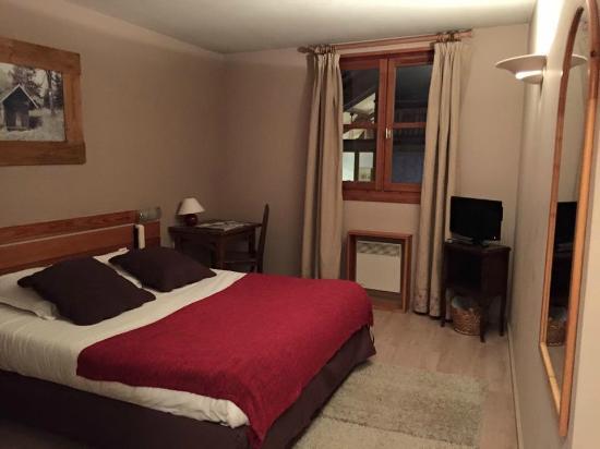 Hotel La boule de neige : Chambre double