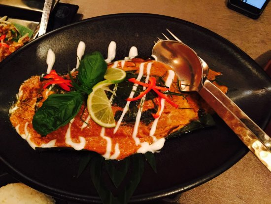 Patara Fine Thai Restaurant - South Kensington: Sea bass - main course