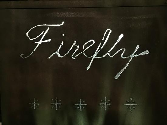 Firefly Hotel Mustique : The welcoming front door sign