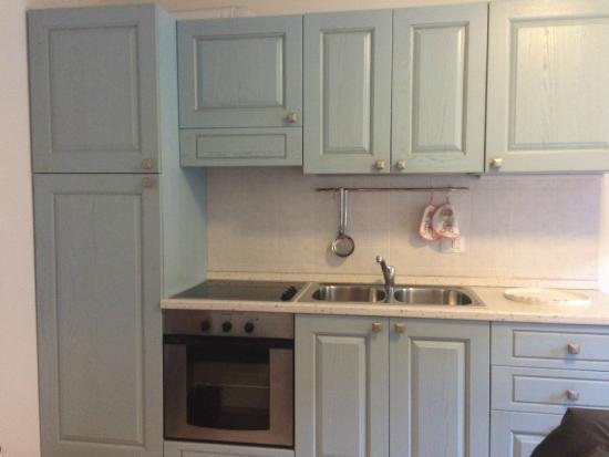 Residence La Rosa delle Dolomiti: Cucina