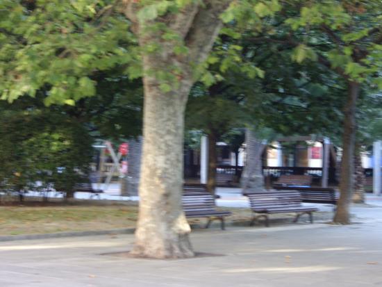 Jardines de Begona : VISTA DEL PASEO