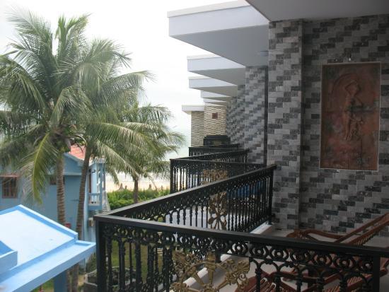 Palmira Beach Resort & Spa : Это вид из нашего номера на море