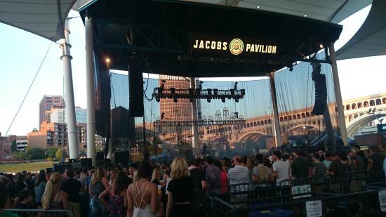 Jacobs Pavilion At Nautica City View