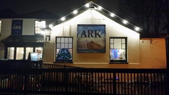 The Ark at Christmas. A winter wonderland