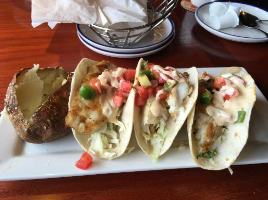 Red Lobster: Tilapia Fish Tacos